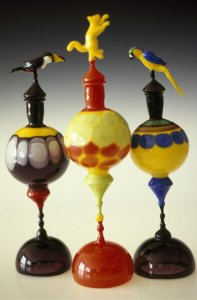 Animal perfume vessels [slide].