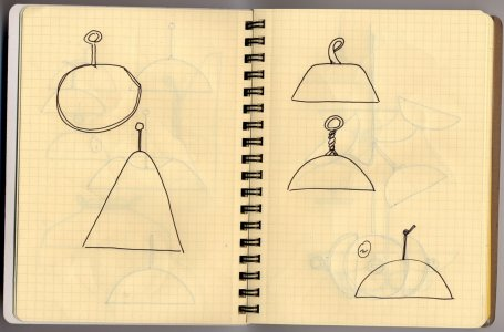 [Design drawing used in preparation for bell jar prototype] [electronic resource].
