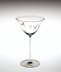 Goblet with Seven Dragonflies