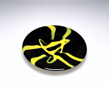 Plate with Abstract Decoration