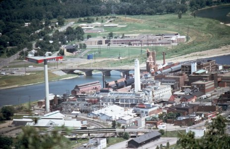 [Downtown Corning taken from Higman Hill] [slide].