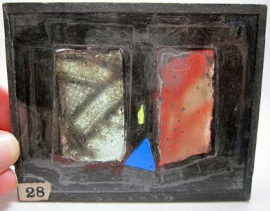 4 Pieces of Stained Glass