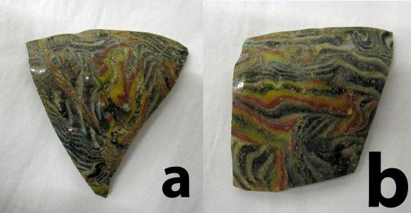 2 Bowl Fragments
