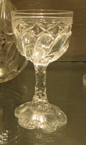 "Wineglass in ""Twin City"" Pattern"