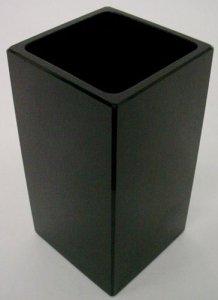 Square Ebony Vase