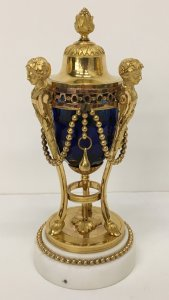 Vase and Cover (Cassolette Formant Bougeoir)