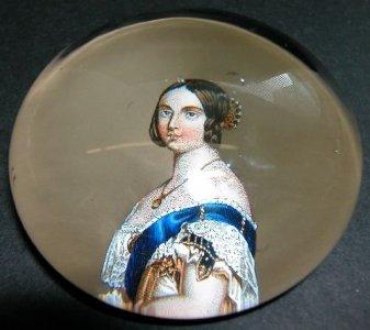 Paperweight of Queen Victoria