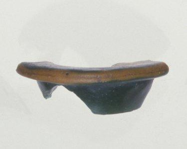 Lentoid Flask Rim Fragment