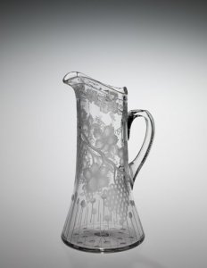 Pitcher with Sheared Top Rim