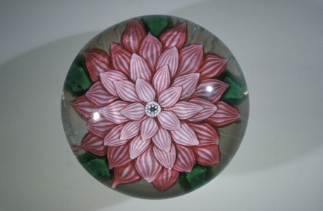 Paperweight with Flower