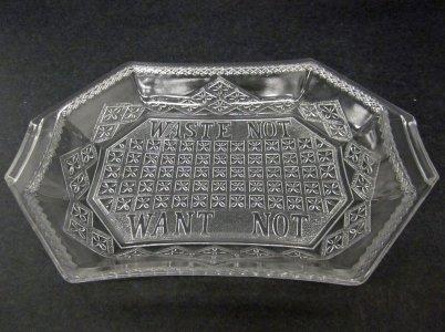Bread Plate in Lattice Pattern