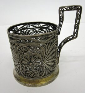 Holder for Russian Tea Glass