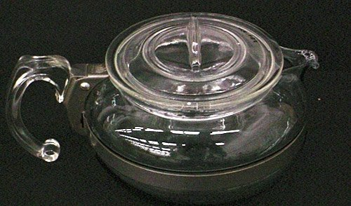 Pyrex Flameware Teapot and Lid