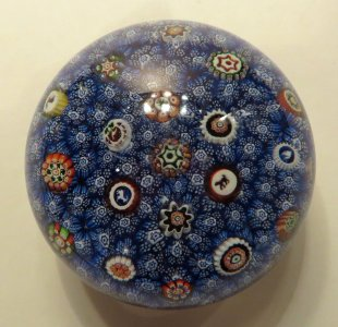 Paperweight with Millefiori Carpet