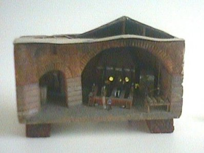 Scale Model of Cylinder Glass Factory