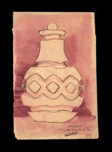 Étude de vase [art original].