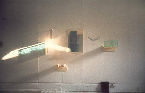 Reflexion (installation) [slide].