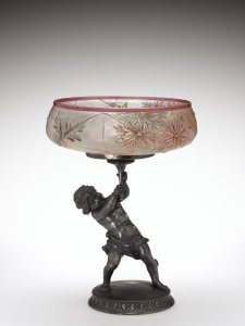 Royal Flemish Centerpiece Bowl and Stand