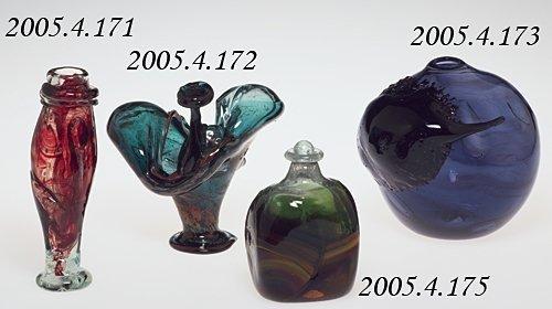 """Copper Ruby"" Vase"