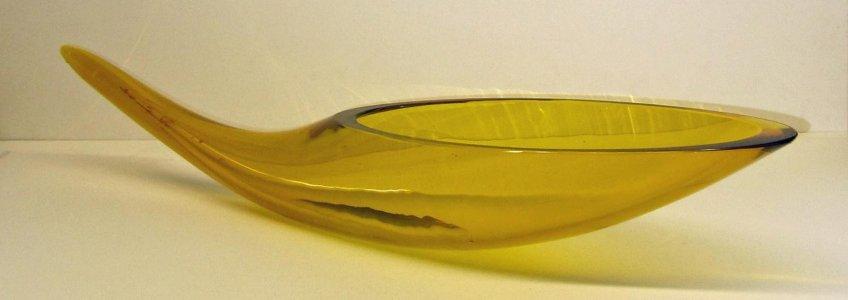 Horn-Shaped Vase