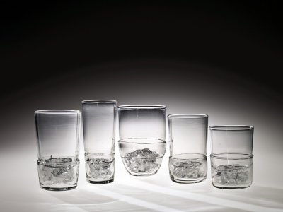 "5 ""Nugget"" Drinking Glasses"
