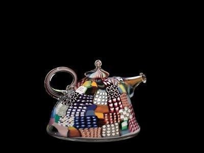 Crazy Quilt Teapot #38
