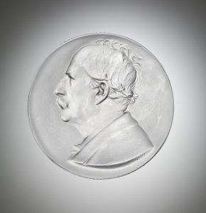 Medallion and Box Commemorating Marcellin Berthelot's 100th Anniversary