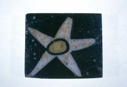 Mosaic Plaque with Star