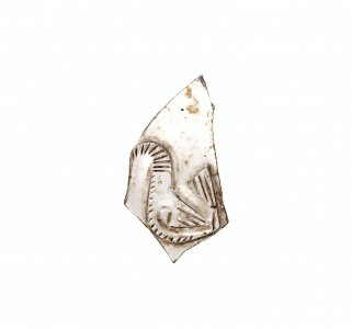 Fragment with Bird