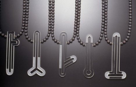 Group of necklaces, male series [slide].