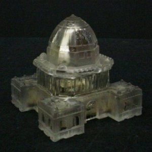 Inkwell in the Form of a Building