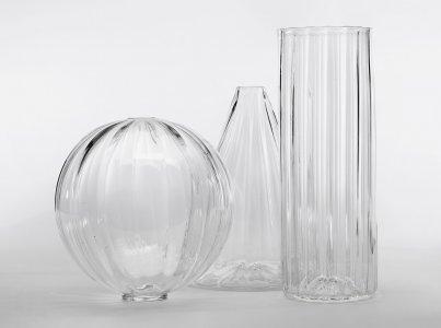"""Cone-Shaped """"Optic"""" Vase Prototype"""