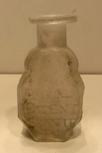 English Medicine Bottle