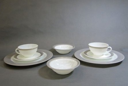 Pyrex Plate, Bowl, Cup and Saucer