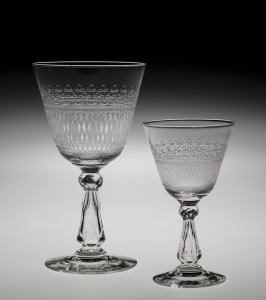 Goblet and Wineglass