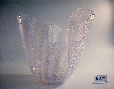 """""""Fazzoletto"""" (Handkerchief) Vase"""