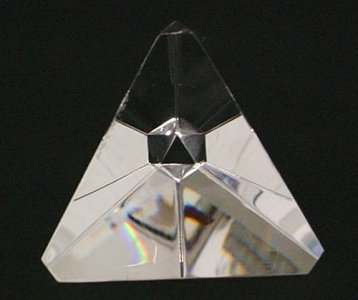 Tetrahedron Paperweight