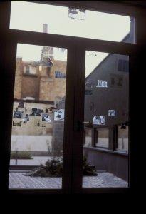 Women dis(ma)nt(le)ment (three of six window panels) [slide].