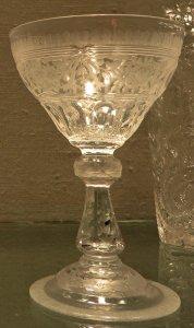 """Wineglass in Louis XVI"""" Pattern"""