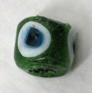 Green Eye Bead