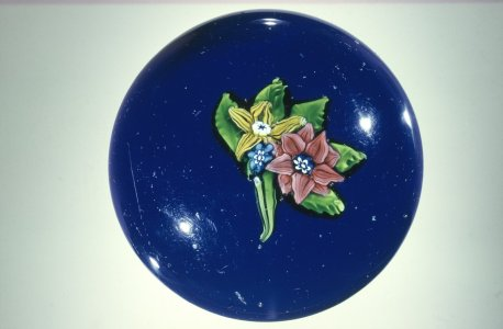 Paperweight with Floral Nosegay