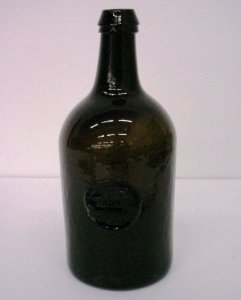 Seal Wine Bottle