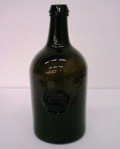 Seal Wine Bottle