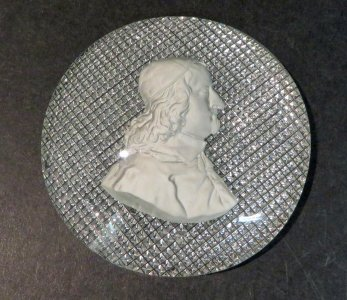 Plaque with Sulphide of a Man