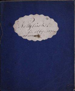 Notizbüchel für 1869-1870.