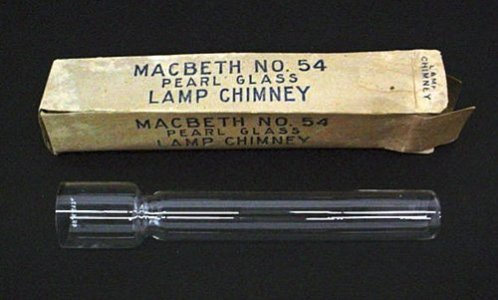 Lamp Chimney with Original Box