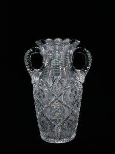 "Vase in ""Monarch"" Pattern"