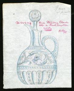 Library collection corning museum of glass 24911 12 art original oval stourbridge claret malvernweather Images
