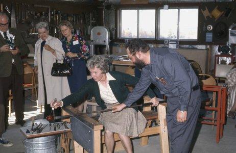 CMG Seminar 1973 [slide]: Visit to Andy Billeci's studio [2].