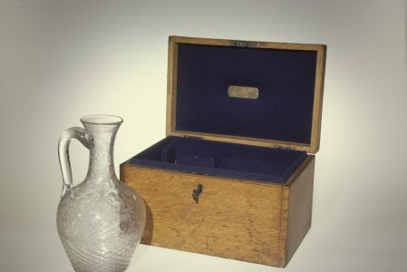 Thackeray Jug with Wooden Case and Key